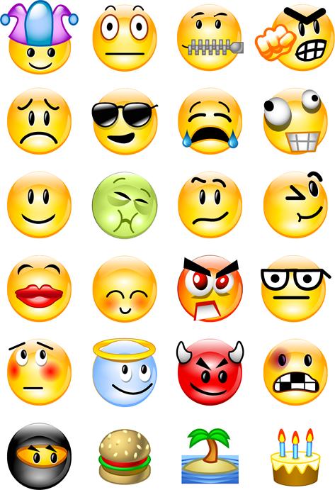 Emoticons et al