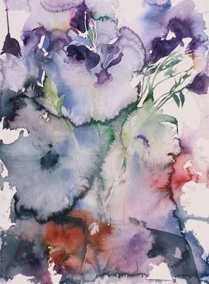 Wet-flower-lysianthus