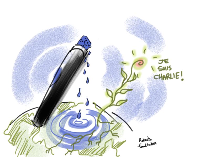 Je Suis Charlie Roberta Faulhaber